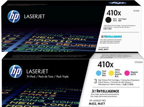 HP 410X Toner Cartridge Combo pack 4 Colors Main Image