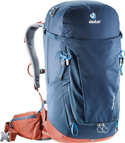 Deuter Trail Pro 32L Midnight/Lava Main Image