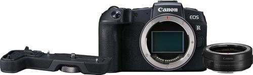 Canon EOS RP Body + EF-EOS R Adapter + EOS RP Grip (EG-E1) Main Image
