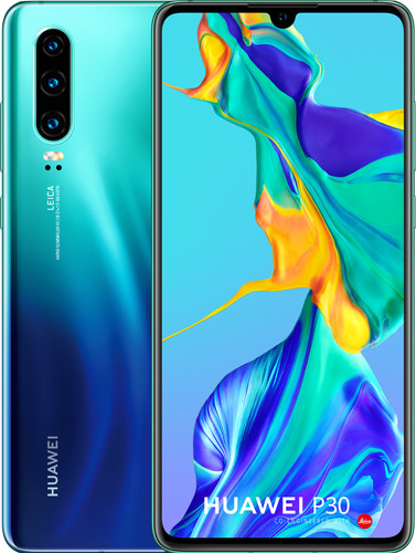 Huawei P30 Blauw Main Image