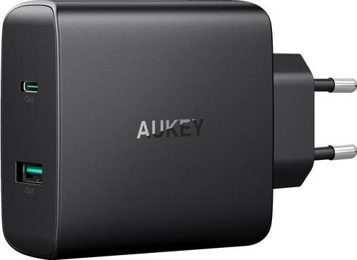 Aukey Oplader Zonder Kabel 2 Usb Poorten 46W Power Delivery 3.0 Main Image