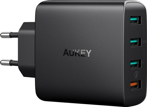 Aukey Oplader zonder Kabel 4 Usb Poorten 18W Quick Charge 3.0 Main Image