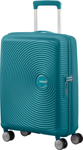 American Tourister Soundbox Expandable Spinner 55cm Jade Green Main Image