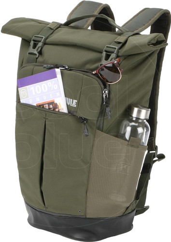 fdf6186f6770b Thule Paramount Backpack Rolltop 24L Forest Night - Coolblue ...