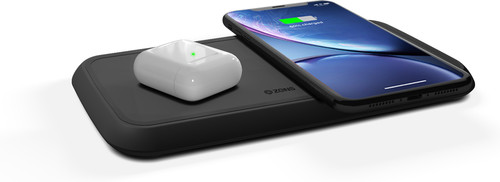 ZENS Dual Fast Wireless Charger 10W Black Main Image