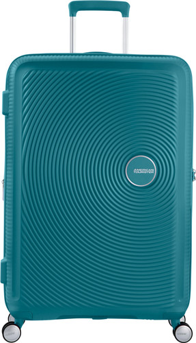 American Tourister Soundbox Expandable Spinner 77cm Jade Green Main Image