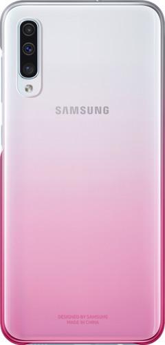 Samsung Galaxy A50 Gradation Back Cover Pink / Transparent Main Image