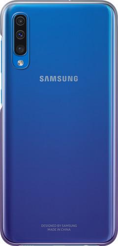 Samsung Galaxy A50 Gradation Back Cover Purple / Transparent Main Image