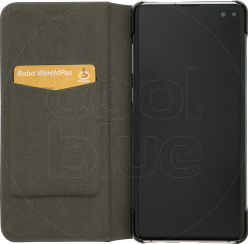 Azuri Booklet Ultra Thin Samsung Galaxy S10 Plus Book Case Black Main Image