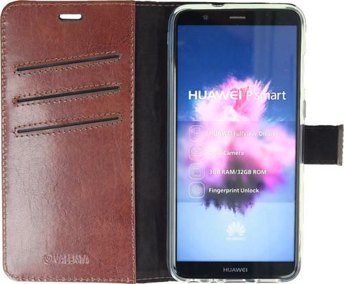 Valenta Booklet Gel Skin Huawei P Smart Book Case Brown Main Image