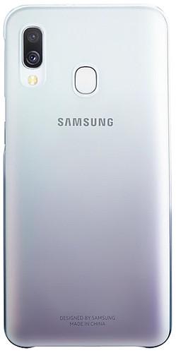 Samsung Galaxy A40 Gradation Cover Back Cover Black / Transparent Main Image
