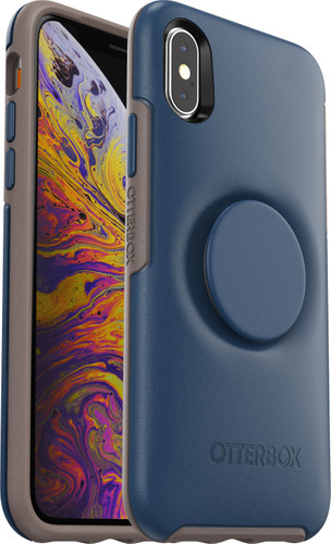 Otterbox Symmetry Pop Apple iPhone X / Xs Back Cover Blue Main Image