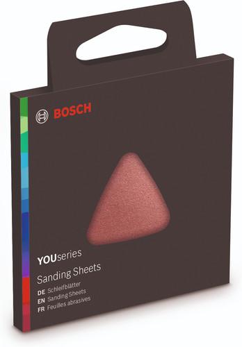 Bosch YOUseries 6-part Sanding Sheet Set K80, K120, K240 Main Image