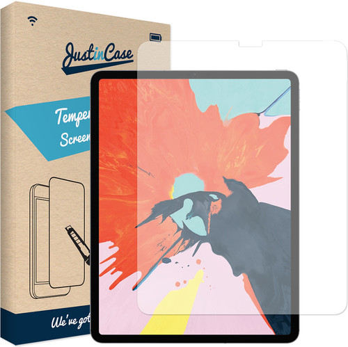 Just in Case Tempered Glass Apple iPad Pro 12.9 (2018) Screenprotector Glas Main Image