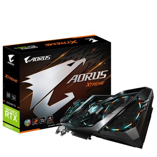 Gigabyte GeForce AORUS RTX 2080 Ti XTREME 11G Main Image