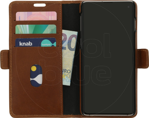 DBramante1928 Lynge Samsung Galaxy S10 Book Case Brown Main Image
