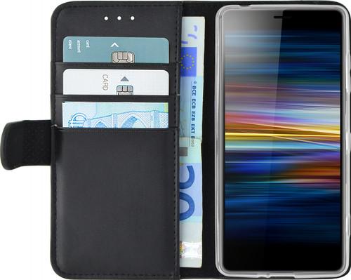 Azuri Wallet Magnet Sony Xperia L3 Book Case Black Main Image