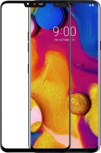 Azuri Gehard Glas LG V40 Screenprotector Glas Zwart Main Image