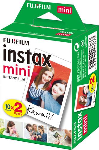 Fujifilm Instax Mini Colorfilm Glossy 10x2 pack Main Image
