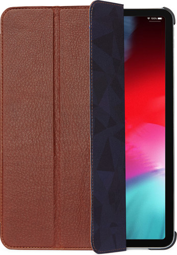 separation shoes 8b8b2 dd38c Decoded Leather Slim Cover iPad Pro 11 inch (2018) Book Case Brown
