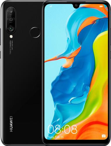 Huawei P30 Lite Zwart Main Image