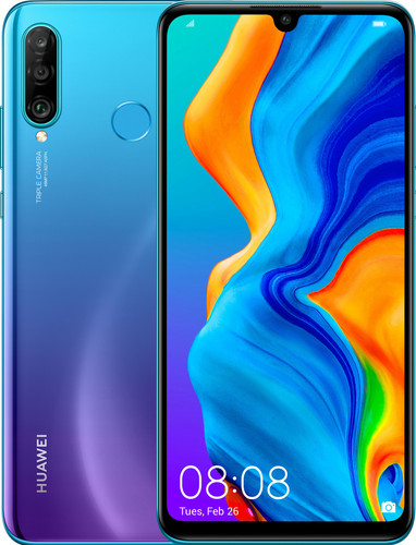 Huawei P30 Lite Blauw Main Image