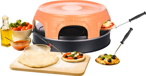 Pizzarette 6 Persoons.Emerio Pizzarette Keep Warm 6 Persoons