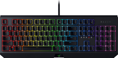 Second Chance Razer BlackWidow Gaming Keyboard Green Switch QWERTY Main Image