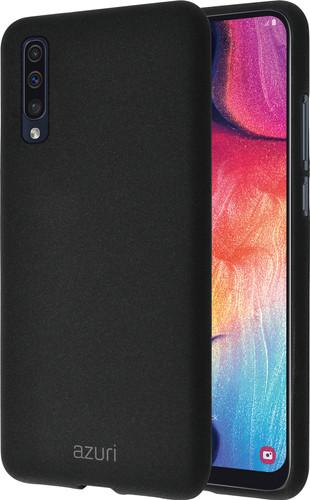 Azuri Flexible Sand Samsung Galaxy A50 Back Cover Black Main Image