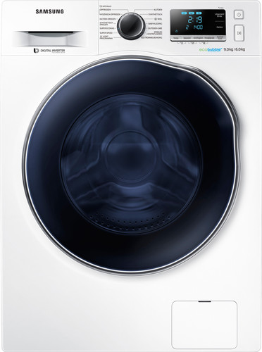 Samsung WD90J6A00AW/EN EcoBubble - 9/6 kg Main Image