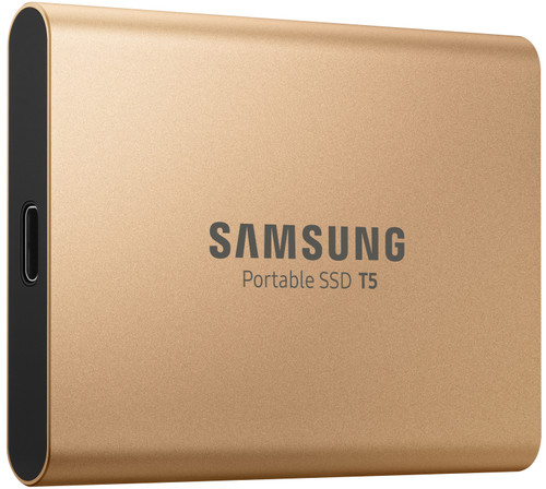 Samsung Portable Ssd T5 500gb Rose Goud