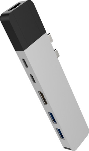 Hyper Usb C naar HDMI, Ethernet en Usb Docking Station Zilver Main Image