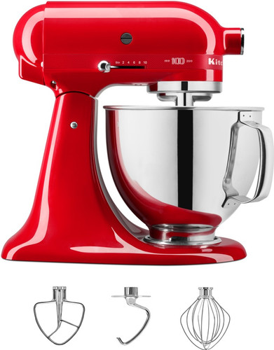 KitchenAid Artisan Queen of Hearts 4,8L 5KSM180HESD Main Image