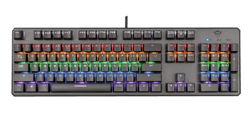 Trust GXT865 Asta Mechanical Gaming Keyboard Main Image