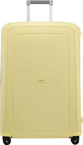 Samsonite S'Cure Spinner 75cm Pastel Yellow Stripes Main Image
