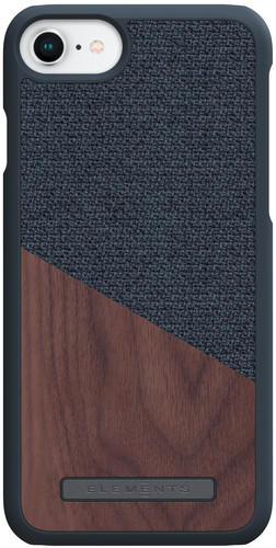 Nordic Elements Frejr Apple iPhone 6 / 6s / 7/8 Back Cover Dark Gray / Wood Main Image