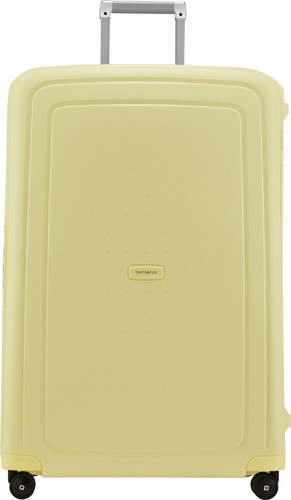 Samsonite S'Cure Spinner 81cm Pastel Yellow Stripes Main Image