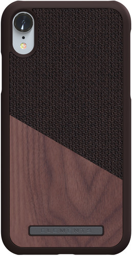 Nordic Elements Frejr Apple iPhone Xr Back Cover Brown / Wood Main Image