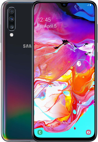 Samsung Galaxy A70 128GB Zwart Main Image