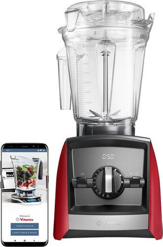 Vitamix Ascent A2500i Rood Main Image
