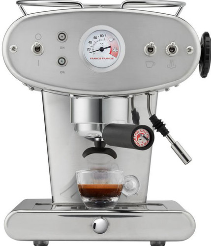 Illy X1 Ground Silver Main Image
