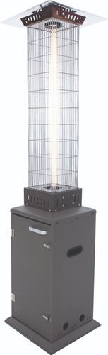 Sunred Atria Flame Heater Gray Main Image