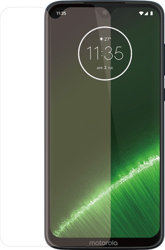 Azuri Rinox Gehard Glas Motorola G7 Plus Screenprotector Glas Transparant Main Image