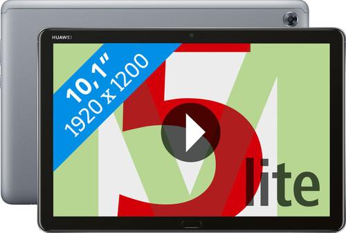 Huawei Mediapad M5 Lite 10.1 32GB WiFi + 4G Grijs Main Image