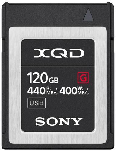 Sony XQD G 120GB High Speed R440 W400 Main Image