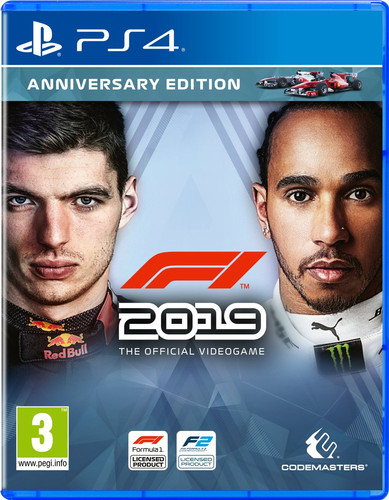 F1 2019 Anniversary Edition PS4 Main Image