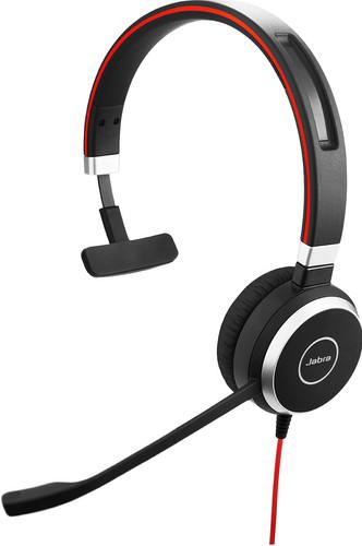 Jabra Evolve 40 UC Mono Bedrade Usb A Office Headset Main Image