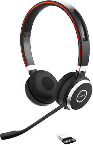Jabra Evolve 65 MS Stereo Draadloze Office Headset Main Image