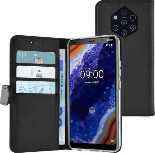 Azuri Wallet Magnet Nokia 9 PureView Book Case Black Main Image