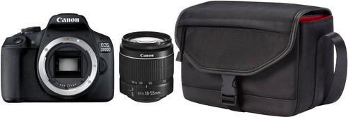 Canon EOS 2000D + 18-55mm f/3.5-5.6 DC III + Tas + 16GB Geheugenkaart Main Image